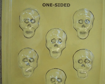 Small Sugar Skull Molds/Candy Molds - Day of the Dead