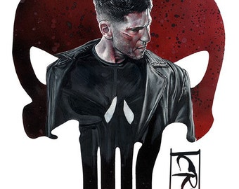 PUNISHER A3 Giclee Print