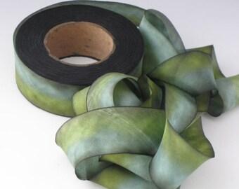 Silk Ribbon, bias-cut 1 inch wide