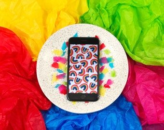 Rainbow Wallpaper for iPhone