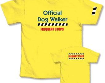 L.A. Imprints T-shirt Dog Walker