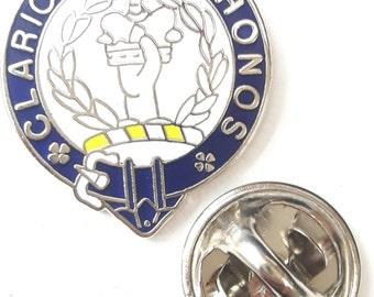 Scotland Buchanan Clan Name Enamel Lapel Pin Badge