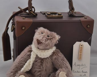 Augustus - Handmade Mohair Artist Bear OOAK