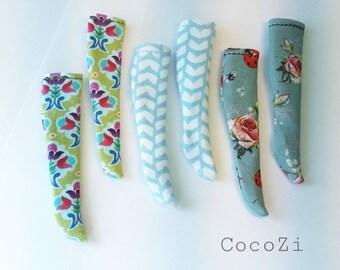 Handmade  Over the Knee Pattern Blythe Socks 1/6