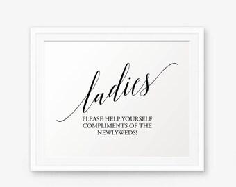 Hochzeit Bad, Druckbare Zeichen, Schilder Damen Bad Druckbare, Hochzeit  Toilette, Badezimmer