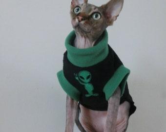 Vêtements exotiques pour un Sphynx chat HOTSPHYNX chat nu animaux vêtements  d\u0027hiver, costume