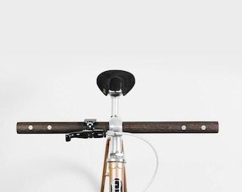 SALE! 15% Wooden bicycle handlebar black P 020 - straight - bike, style, cycling, aluminum, ash wood