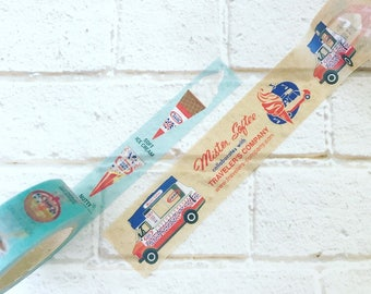 Travelers Factory Masking Tape Mister Softee 2 Type Set