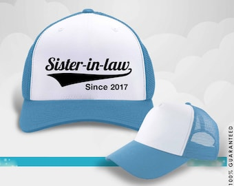 Sister-in-law gift, family, family hat, birthday hat, birthday gift, personalized gift, hat, shirt, birthday, family tree, 40s, personalized