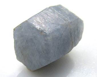 15ct Natural Blue Sapphire Crystal - Raw Fully Terminated Corundum Mineral Specimen Wire Wrapping Jewelry Supply