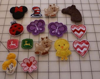 Felt Applique shapes