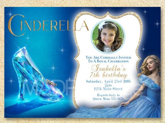 Cinderella Party Printable Cinderella Birthday Party