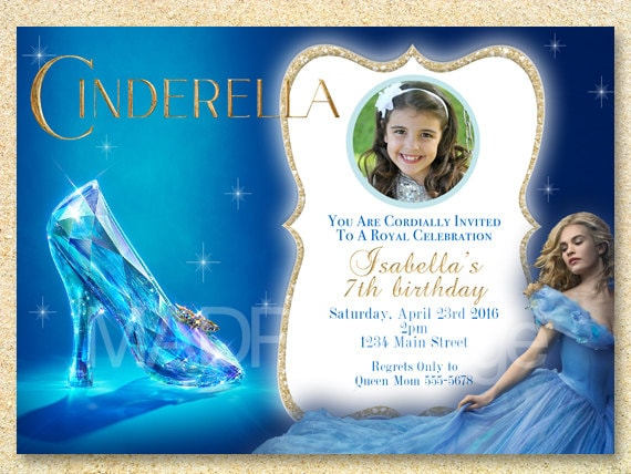 Cinderella party printable cinderella birthday party bookmarktalkfo Gallery