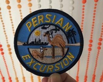 Vintage Persian Excursion Patch