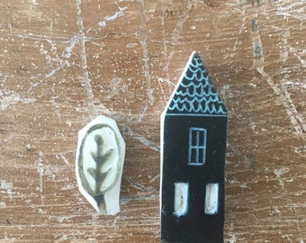 Tiny House Stamps Set