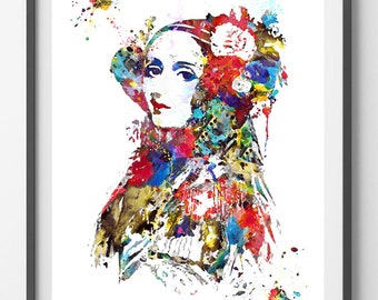 Ada Lovelace watercolor Print computer science pioneer Ada Lovelace poster Ada Lovelace information technology art computer art wall decor