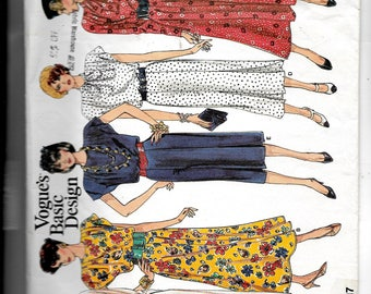 Vogue Misses' Dress Pattern1717