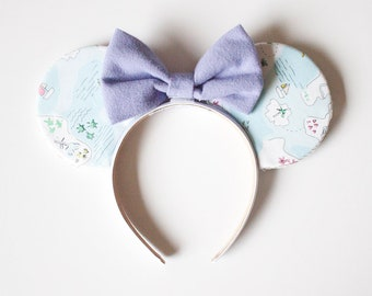 Peter Pan Map Mouse Ears