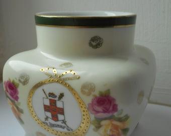 vintage decorative porcelain vase ornament