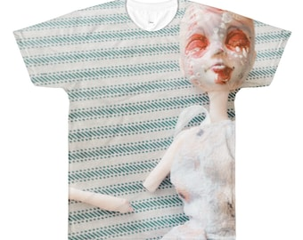 Harsh Light All-Over Printed T-Shirt