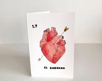 El Corazon card