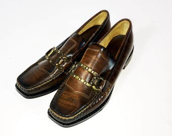 Vintage Loafer Shoes | 60s Moccasin Shoes | Preppy | Brand New - Never Worn | Size 4.5