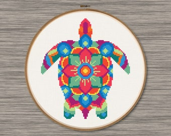 Sea Turtle - PDF Cross Stitch Pattern