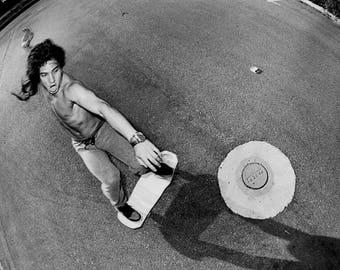 "80s Skateboarding Photo - Christian Hosoi - Skateboarding Photograph - 18""X24"""