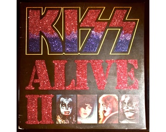 Glittered KISS Alive II Album