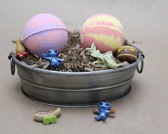 Kids Bath Bomb, Toy Bath Bomb