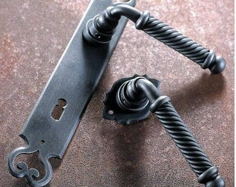 MADRID-Wrought iron handle collection/Wrought Iron Door Handle Collection