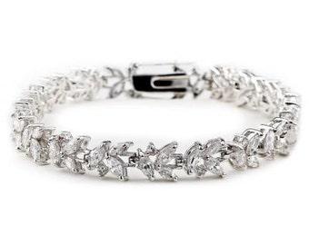 Nina Cubic Zirconia Bracelet w/ custom box