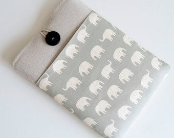 """Elephant Laptop Case, MacBook Air 13"""", Touch Bar MacBook Pro, Padded with Pocket Custom Size for 11.6 to 15.6 inch Laptops"""