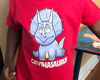 Kid Dinosaur shirt - T Rex Dinosaur Shirt