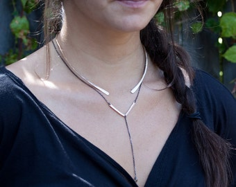 Open Cuff Necklace