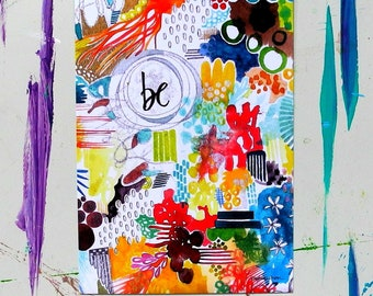 be - 5 x 7 inches