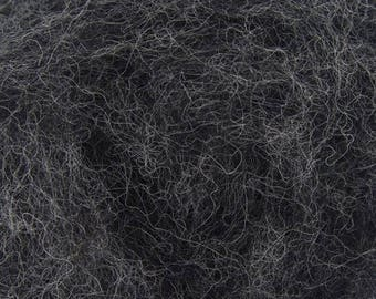Windstorm - Shades of Grey - Corriedale Wool - Bulky Roving - Needle Felting - Wet Felting - Spinning - 1, 2 or 4 ounce sizes