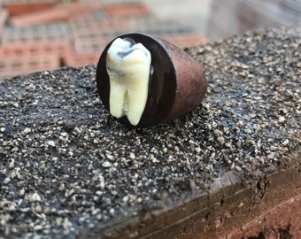 Wooden Tooth Ring