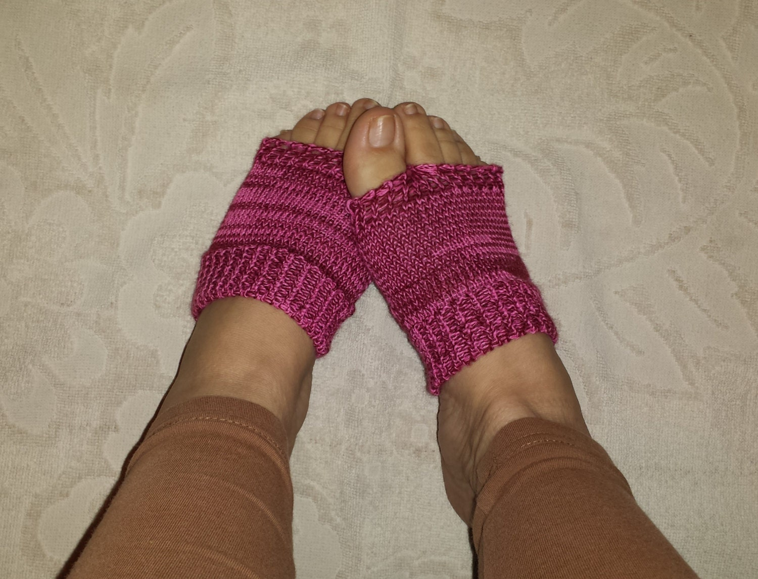 MACHINE KNIT PATTERN, Flip Flop Socks Pattern, Feet Savers Pattern ...