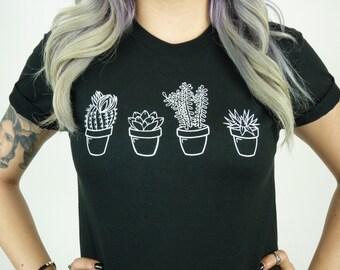 Succulent Cactus shirt