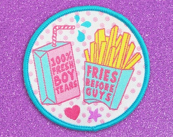 Foods Before Dudes sew-on Patch