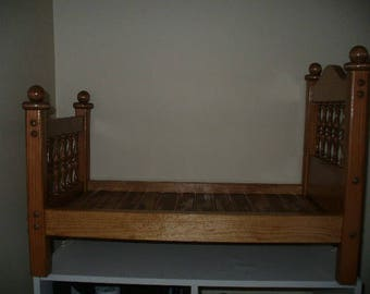 American Girl doll bed