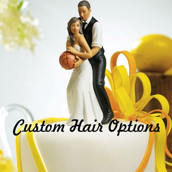 basketball couple wedding cake topper wedding cake topper basketball american 11101