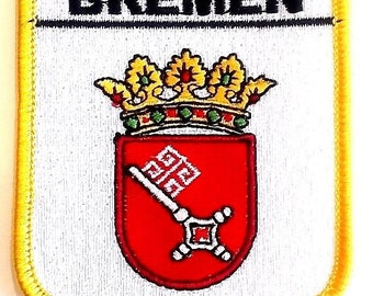 Bremen Embroidered Patch
