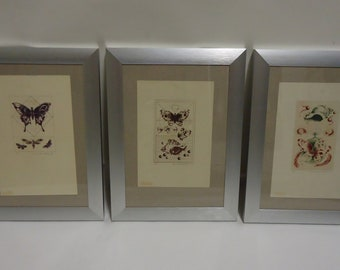 Three etchings from the 90 ' r years Daniela Havlíčková, graphic artist and illustrator