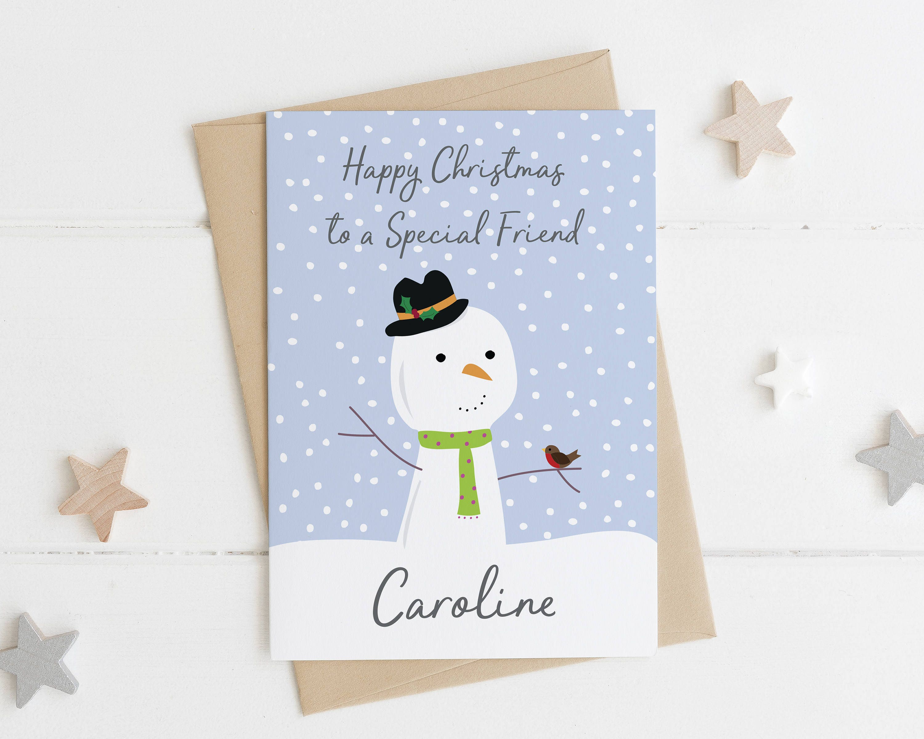 Special friend christmas card xmas card for a best friend description send a thoughtful card to a special friend this christmas kristyandbryce Gallery
