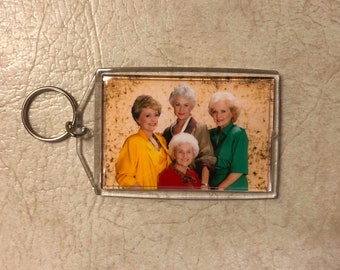 Golden Girls Inspired Keychain