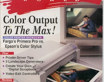 Amiga World Magazine April 1995 Very Good Condition 16 Bit Computer
