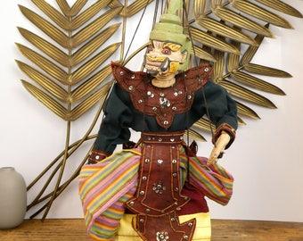 Hanuman - monkey - Burmese marionette