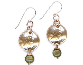 66th Birthday Gifts Ideas 1952 Penny Labradorite Earrings Jewelry Birthday Gift Ideas For Women